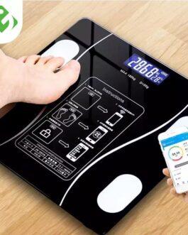 ميزان وزن الجسم الذكي الكتروني بلوتوث